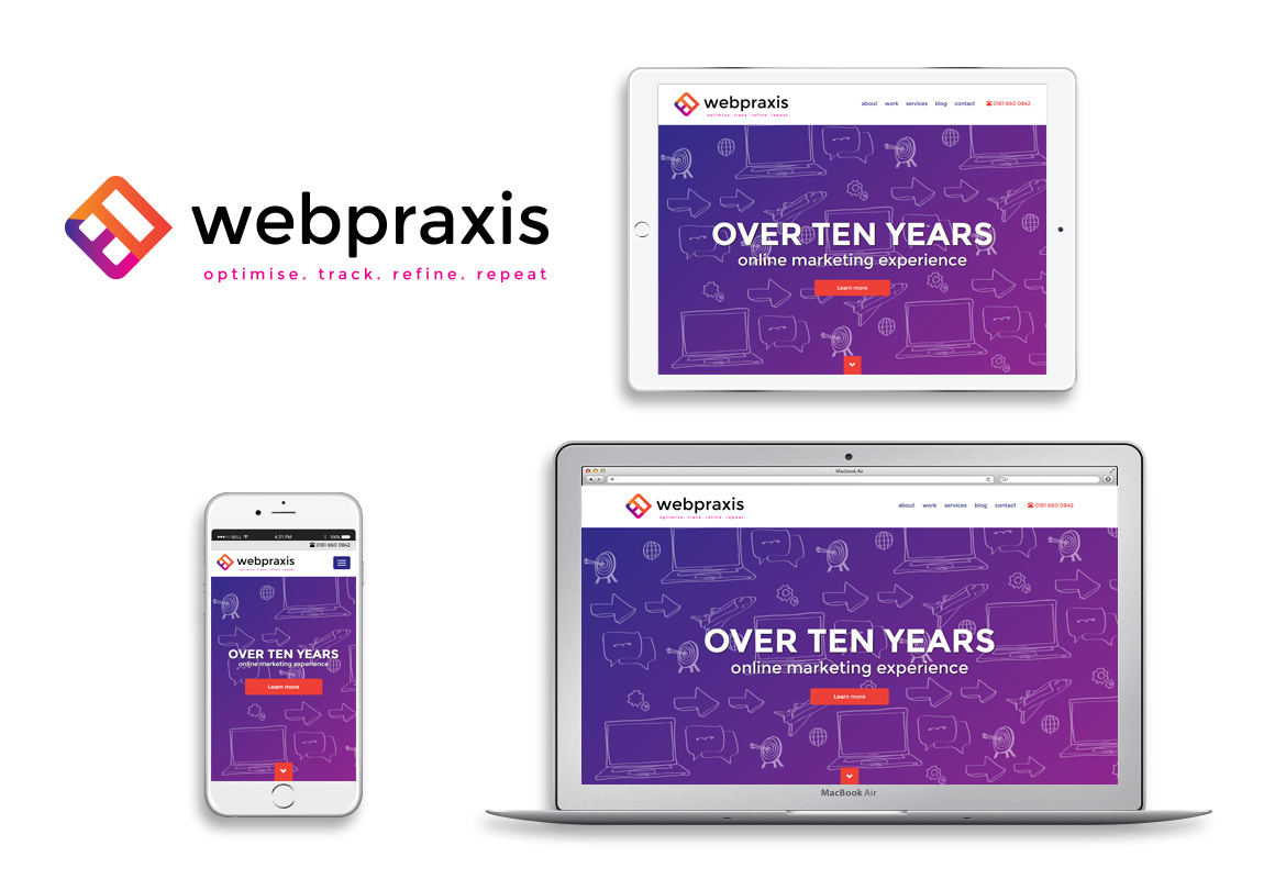 New website. New logo. New brand. New WebPraxis.
