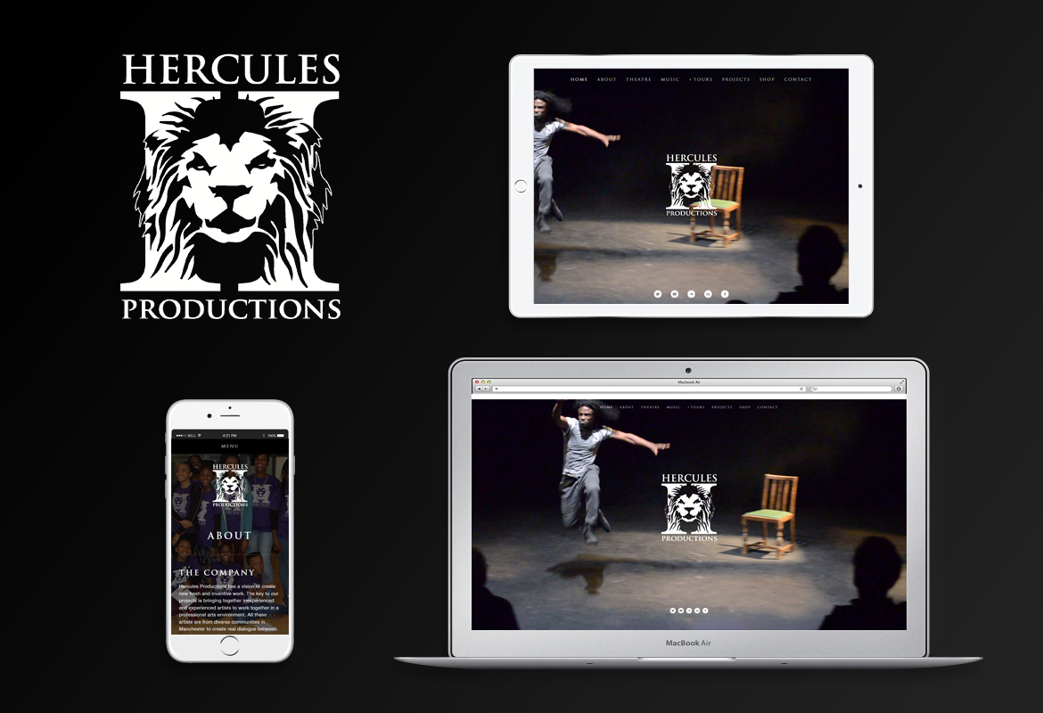 New Website for Hercules Productions