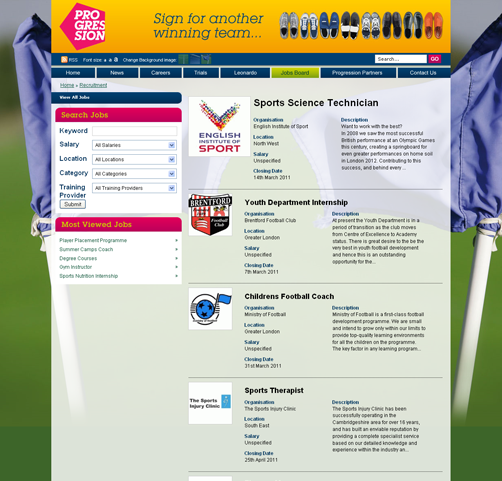 Updates To The LFE Website