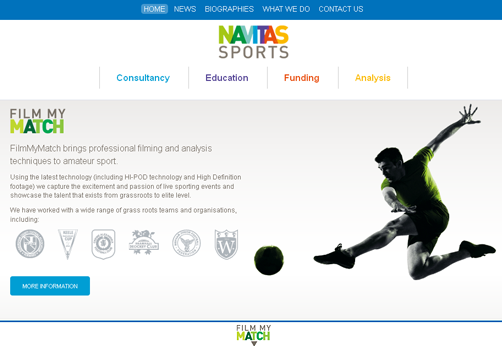 Navitas Sports & Film My Match