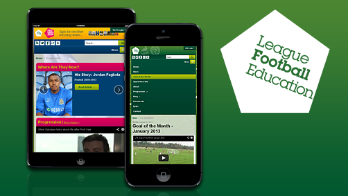League Football Education's New Responsive Designed Website