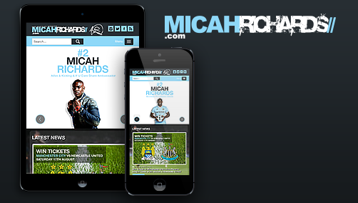 Micah Richards' New Website