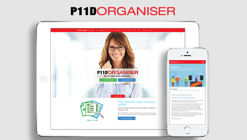 P11D Organiser new website