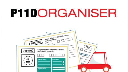 P11D Organiser Illustration