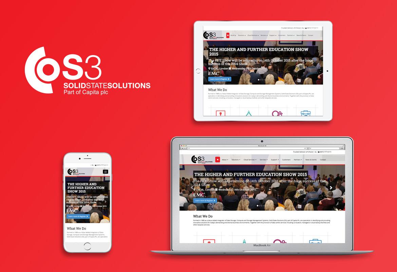 S3 responsive website