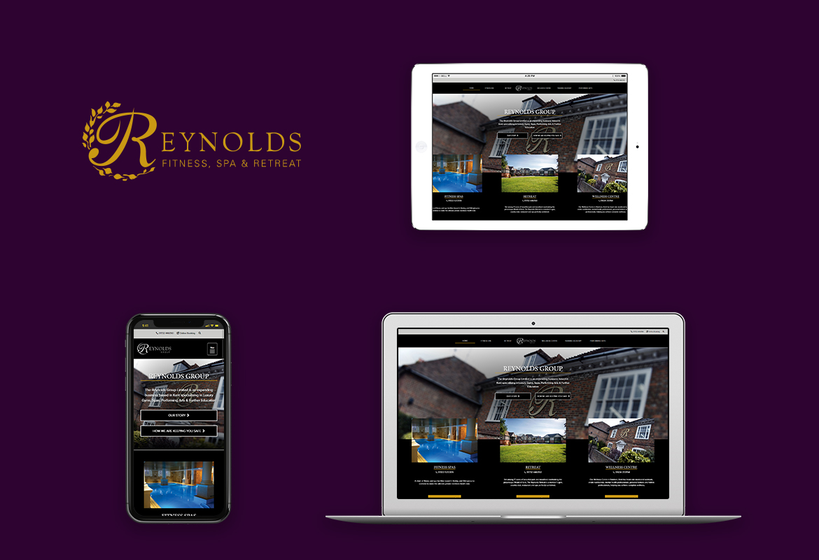 Reynolds Group responsive website